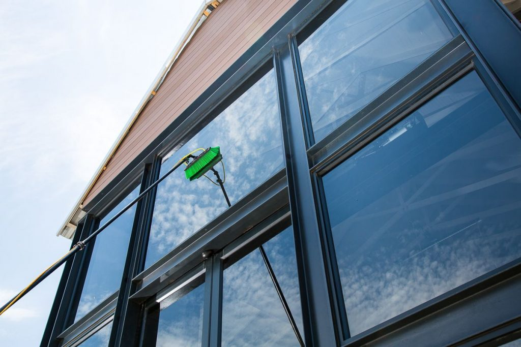 S and A Water Fed Pole Window Cleaning